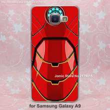 Iron Man Body Armor F0839 design transparent clear hard Cover Case Samsung Galaxy a3 a5 a7 a8 a9 - Jomic store