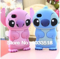 3d Stitch protective case iphone 4,lovely cartoon stich 1 - TNTC Co., Ltd store