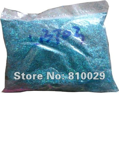"1KG 1/128"" PET Laser Hexagon Glitter powder Cosmetic Grade Holographic PET Glitter High Temperature(China (Mainland))"