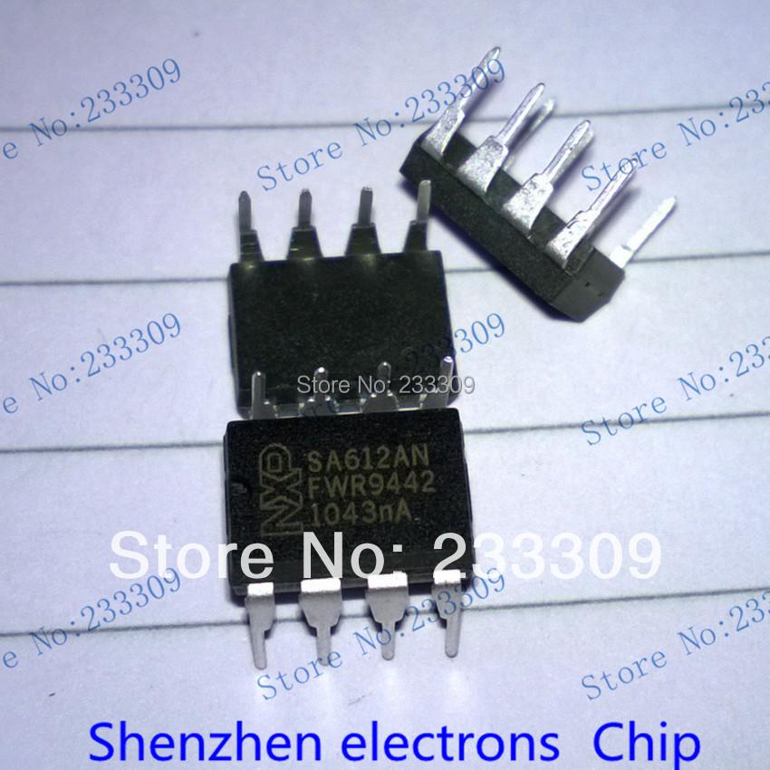 Интегральная микросхема SA612AN SA612 dip/8 IC интегральная микросхема 10 ic ad8616ar 8 8 soic