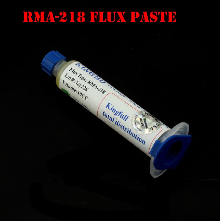 Free shipping KINGBO RMA-218 10cc Flux Paste/BGA flux paste for BGA solder station Soldering Tin Cream(China (Mainland))
