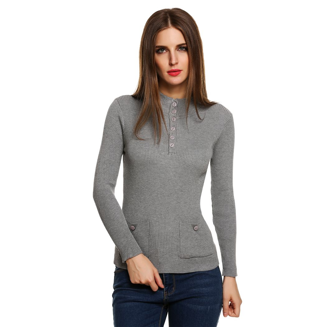 winter autumn women sweater fashion pullover ladies slim