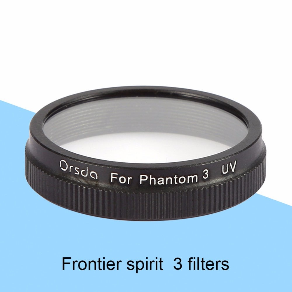 2016 New Arrival UV Filter Lens Cap For DJI Phantom 3 Camera advanced standard Professional Glass Filter Accessory