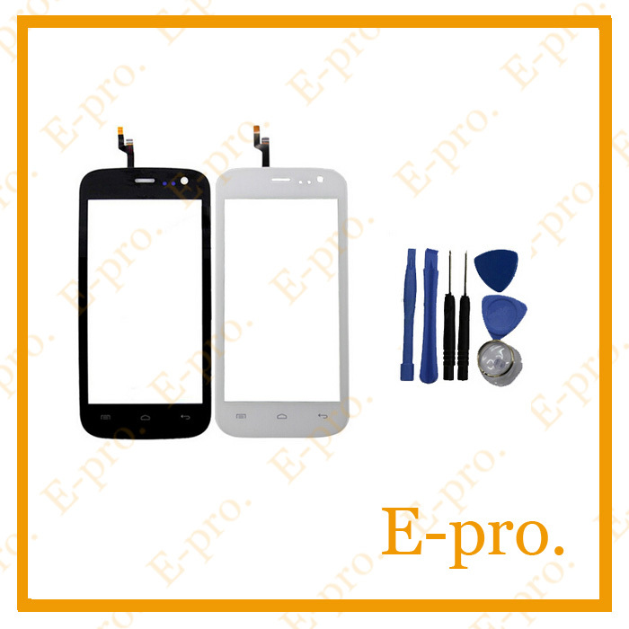"New 4.5"" Capacitive Touch Screen For Explay Golf Touch Digitizer Panel Glass Black White Color +Tools Free Tracking No."