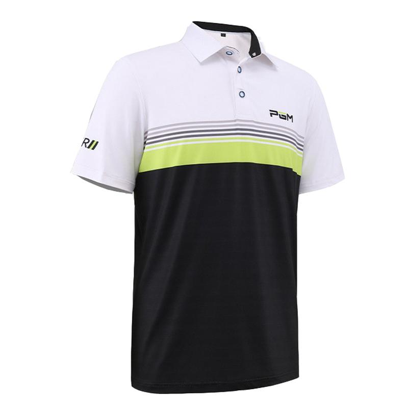 PGM Golf Fit Polomens Sportswear Men's Clothing POLO Shirt Short Sleeve T-Shirt White Black Ropa De Golf Men Table Tennis Shirt(China (Mainland))