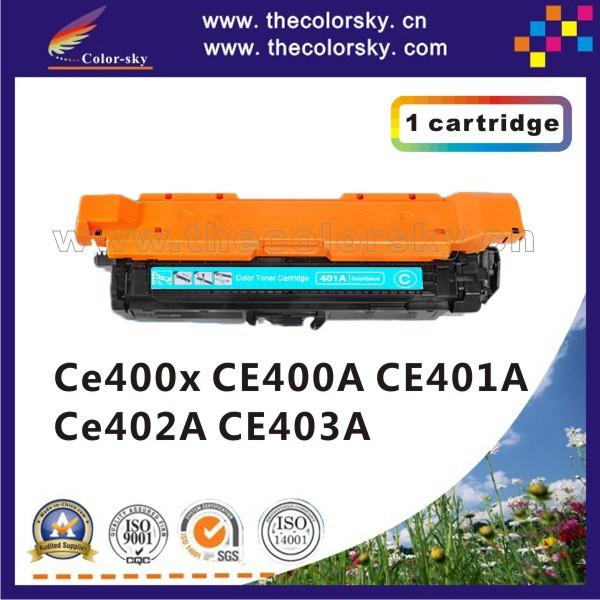 Фотография (CS-H400X-403) toner laserjet printer laser cartridge for HP CE400X CE400A CE401A CE402A CE403A CE 400X 400A 401A 402A 403A kcmy