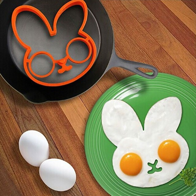 Rabbit Silicone Egg Mold (Ring)