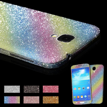Note 2 3 4 5 Bling Rhinestone Glitter Diamond Screen Protector Film Decal Sticker For Samsung Galaxy S3 S4 S5 S6 Edge Stickers(China (Mainland))