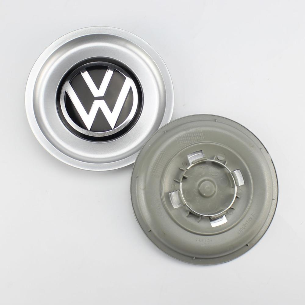 4 шт. VW логотип центра колеса концентратор колесного Cap обложка 1J0601149B для гольфа Jetta MK4 155 мм