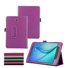 For Samsung Galaxy Tab A T350 Stand PU Leather Cover Case for Samsung Galaxy Tab A 8.0 T350 T355 Tablet Leather Case