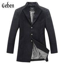 Верхняя одежда Пальто и  от Geben для мужчин, материал шерсть артикул 1965903758