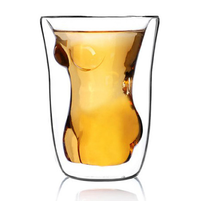 NEW Crystal Sexy Women Shot Glass Cup Beautiful Naked Lady Body Novel Shot Glass Beer Whiskey Wine Drinking Cup FREE SHIPPING(China (Mainland))