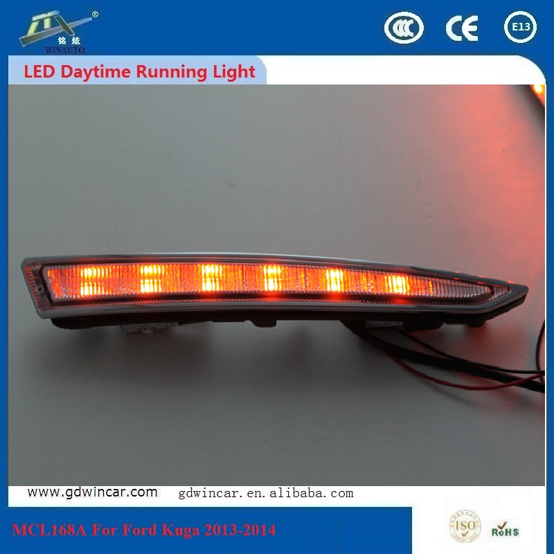 For Ford Kuga Or Escape  2013 - 2015 Good Corrosion Resistance OEM &amp; ODM High Quality ABS Material Long Range Long Lifespan LED <br><br>Aliexpress