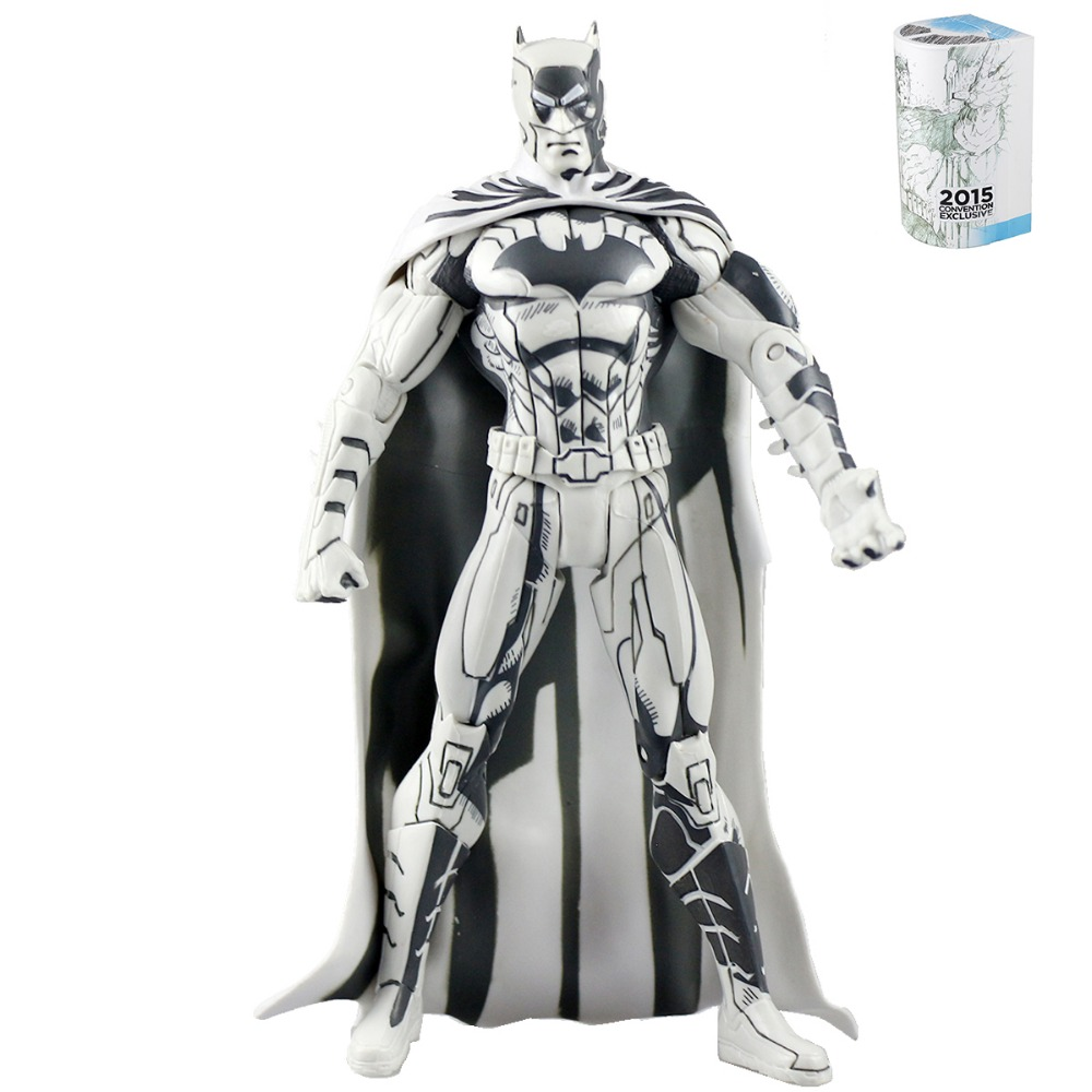 DC Comics Blueline Jim Lee Batman Action Figure Superman Collectibles Model Toy DC012128(China (Mainland))
