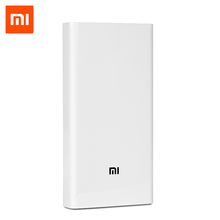 100% Оригинал Xiaomi Power Bank 20000 мАч Внешний Аккумулятор Портативное Зарядное Устройство Powerbank для iphone 5 6 ipad huawei Мобильных Телефонов(China (Mainland))