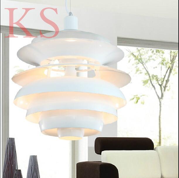 Wholesale Louis Poulsen PH Snowball Lamp Denmark Modern chandelier By Poul Henningsen Aluminum pendant(China (Mainland))
