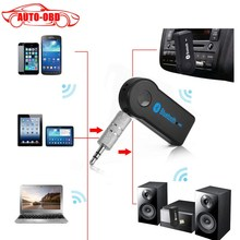 Best price 3.5MM Wireless Car Bluetooth Receiver Adapter AUX Audio Stereo Music Hands-freeHome Car Bluetooth Audio Adapter