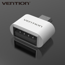 VENTION Micro USB To USB OTG Adapter 2.0 Converter For Android Samsung Galaxy S3 S4 S5 Tablet Pc to Flash Mouse Keyboard(China (Mainland))