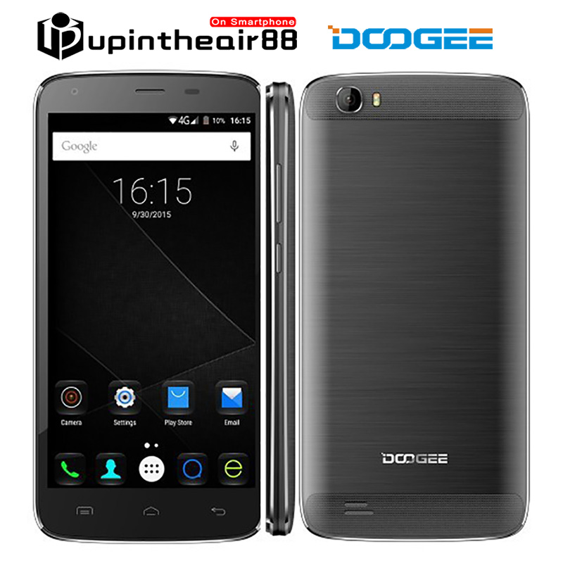 """Original DOOGEE T6 5.5"""" Mobile Phone HD 6250mAh Large Battery 5.5 inches 4G LTE MTK6735 Quad Core 2GB+16GB Android 5.1 13.0MP(China (Mainland))"""