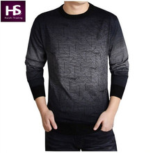 Cashmere Sweater Men 2016 Brand Clothing Mens Sweaters Fashion Print Hang Pye Casual Shirt Wool Pullover Men Pull O-Neck Dress T(China (Mainland))