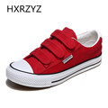 Kuangwang Students canvas flat inner side zipper casual shoes new spring fashion women s high heavy
