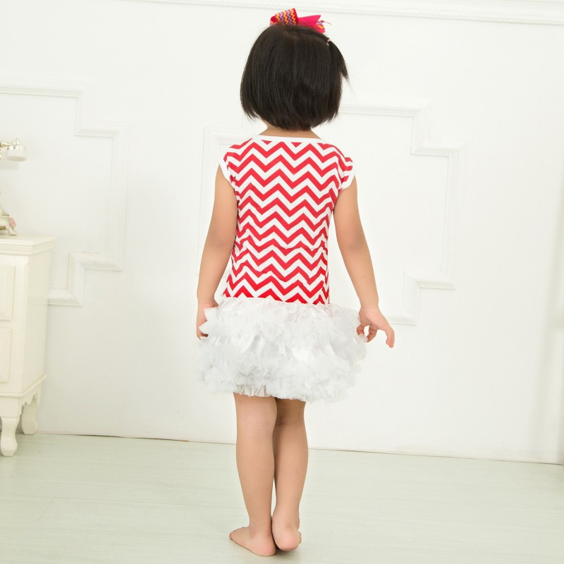 Newest Summer Kids Clothes Lolita Fashion Pure Color Lovely Chick Miniskirt Pleated Dress For Baby Girl Gift KP-MN018