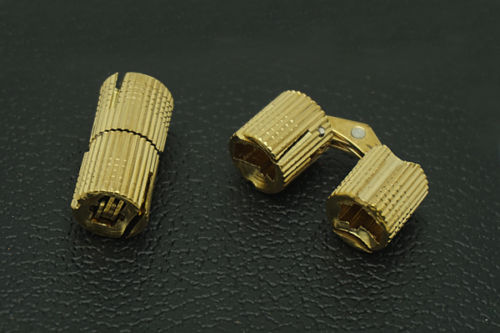 2PCS/Lot Brass Invisible Hinge Concealed Hinge For Table,kitchen utensils, furniture(China (Mainland))