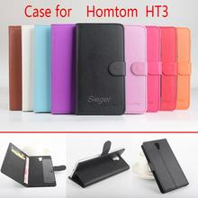 Buy Homtom HT3 Flip Case PU Wallet Magnetic Manual Line Stand Card Slot Leather Protect Shell Case Homtom HT3 for $4.99 in AliExpress store
