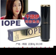 Hot Korean Star IOPE Lipstick Stage Makeup Charming Long-Lasting Lip Balm 4g 12colors Makeup Styling Tools Lip Care 10pcs/lot