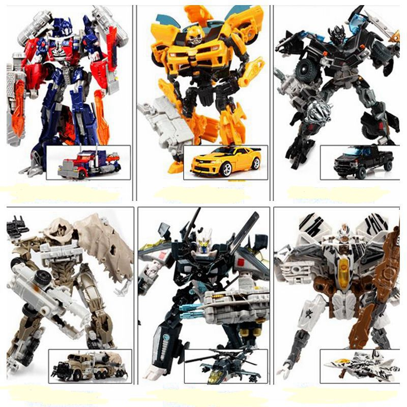 Action Toys For Boys : Hot transformation bumblebee megatron cars brinquedos