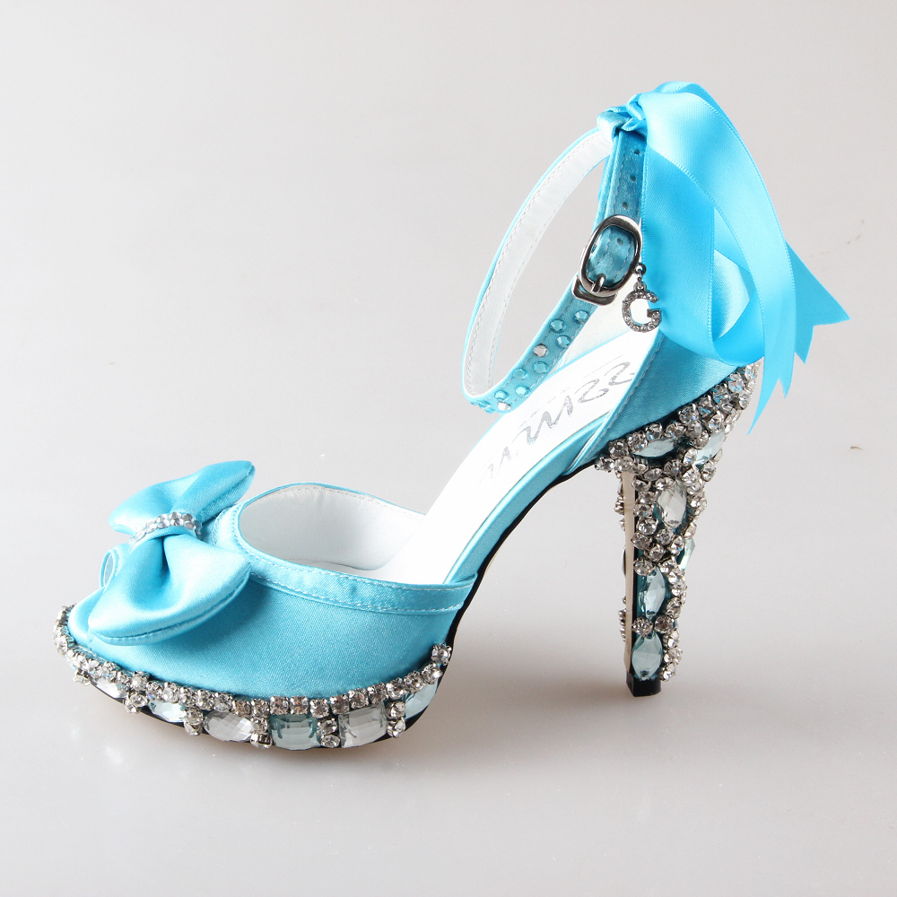 Light Blue Heels Cheap