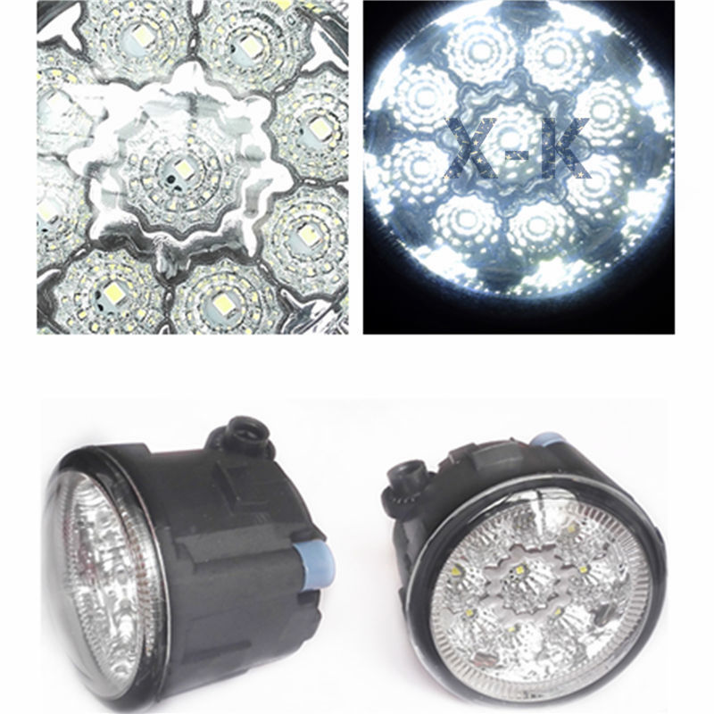 NISSAN Murano Z51 2007-2014 Car-Styling Led Light-Emitting Diodes DRL Fog Lamps - X-K store