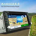 Android6 0 Quad core 2Din Universal Car DVD CD radio GPS Navi with Bluetooth RDS 1024