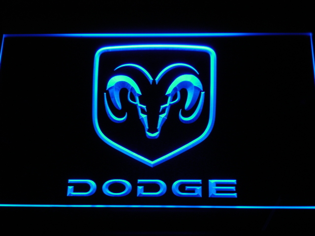 d037-b Dodge LED Neon Sign Wholesale Dropshipping(China (Mainland))