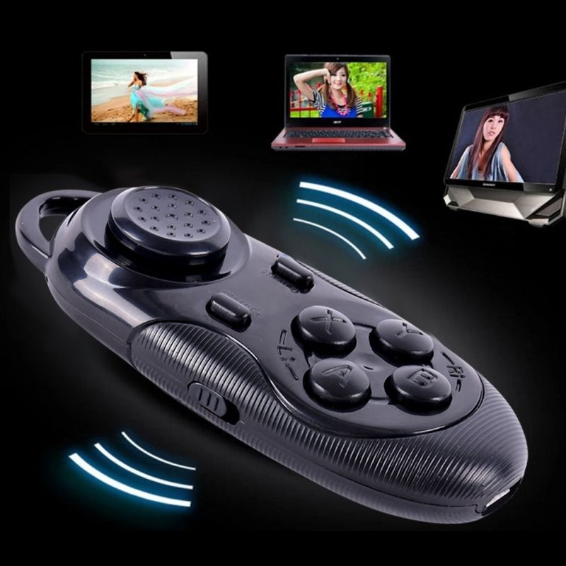 image for 2016 Hot Sale Wireless Bluetooth Selfie Shutter Gamepad Remote Control