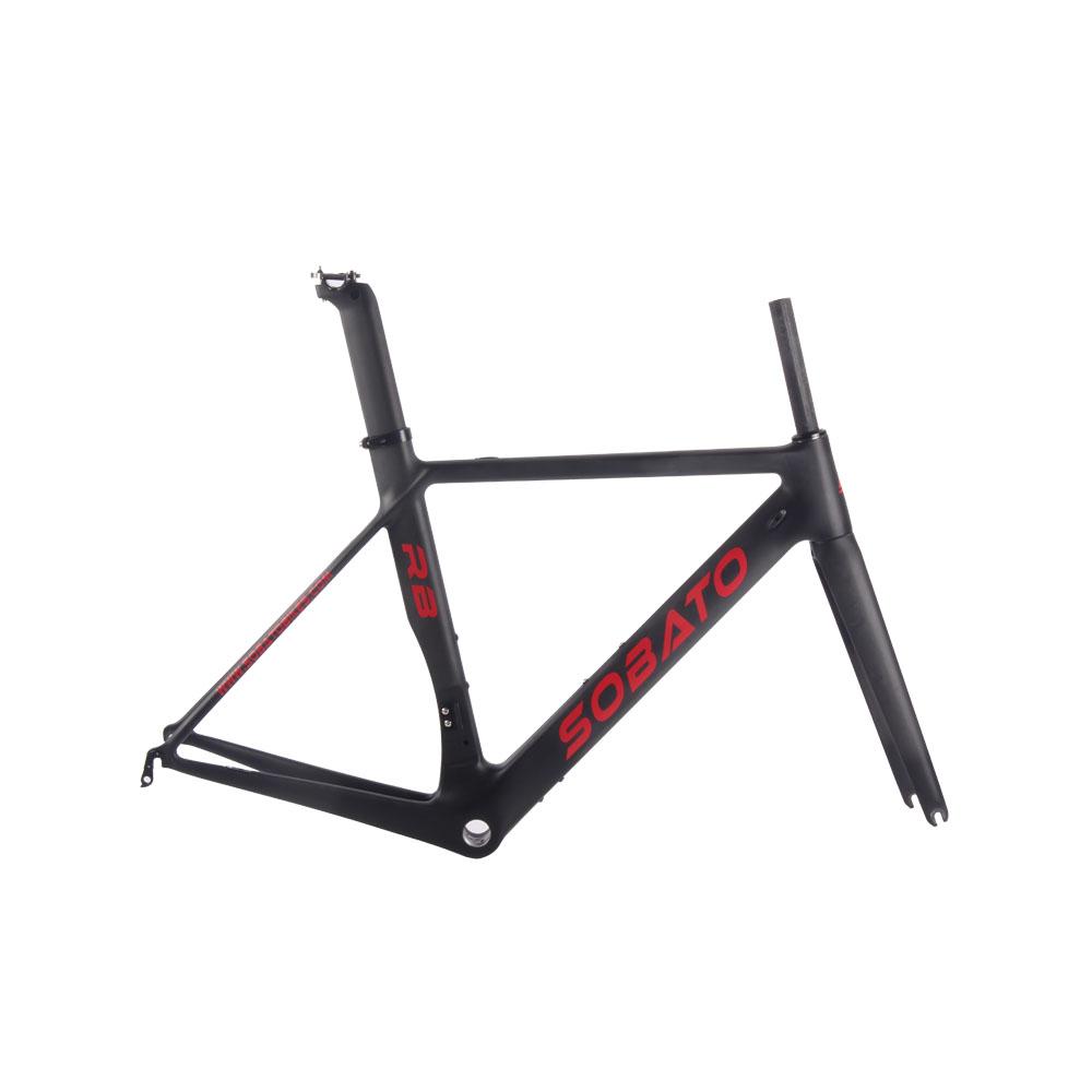 Road Bike Carbon Frame 2016 Aero Carbon Bicycle Frame 49/51/54/56/58cm Road Full Carbon Frame(China (Mainland))