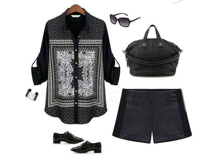 Free Shipping Hot Selling Pu Leather and Wool Warmly women Short SP124(China (Mainland))