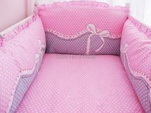 With Filler HOT 5 Pcs/sets baby bedding crib set 100% cotton crib bumper baby cot sets baby bed bumper free shipping (China (Mainland))