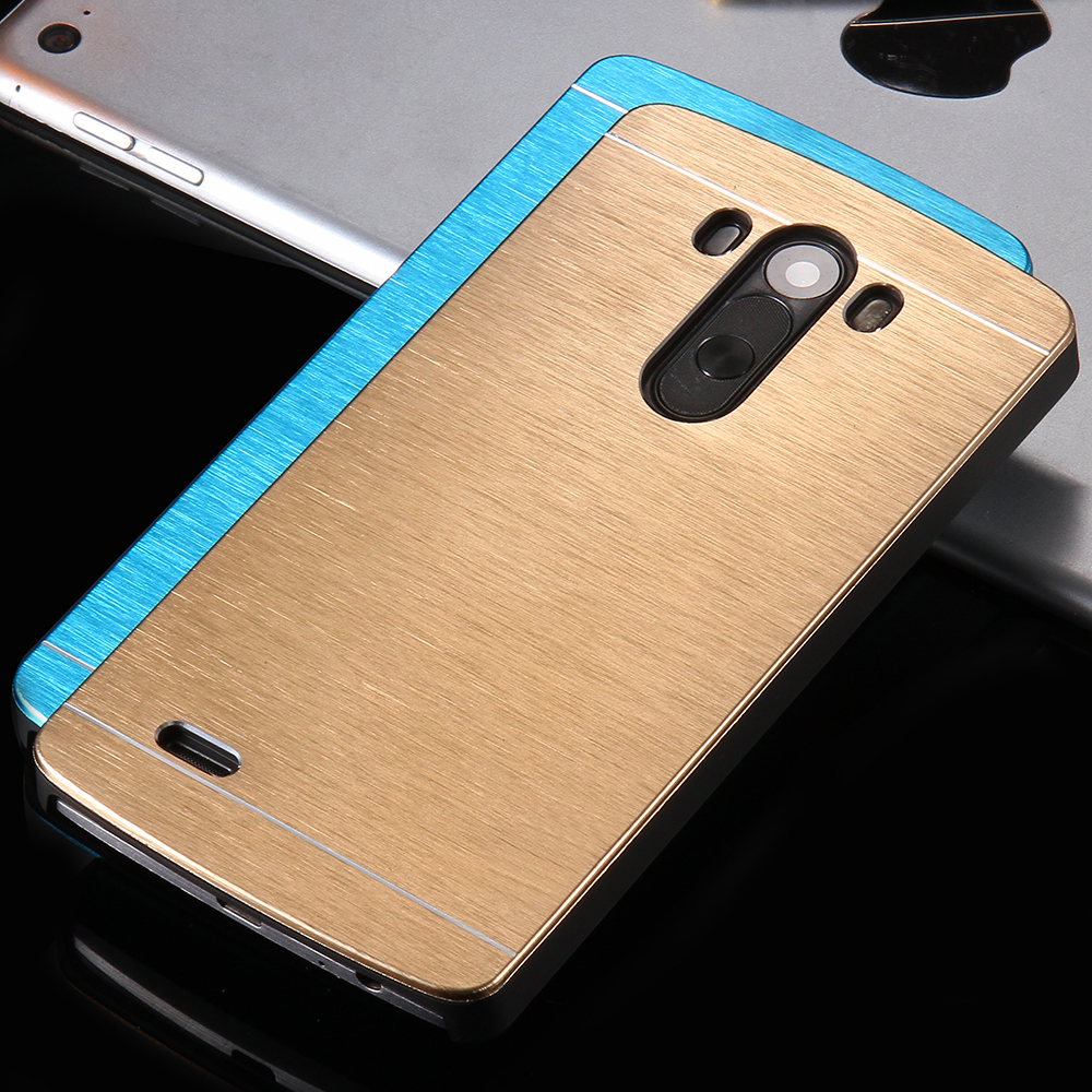 G3 Deluxe Aluminum Metal Brush Case For LG G3 Portable Aluminum Hard Phone Housing Shell Cover With Original Logo HIgh Quality(China (Mainland))