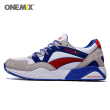 Onemix Discount Retro Athletic Shoes Men Running Sneaker Walking Sport Trainer Trail Online Sale For Adult zapatillas deportivas(China (Mainland))