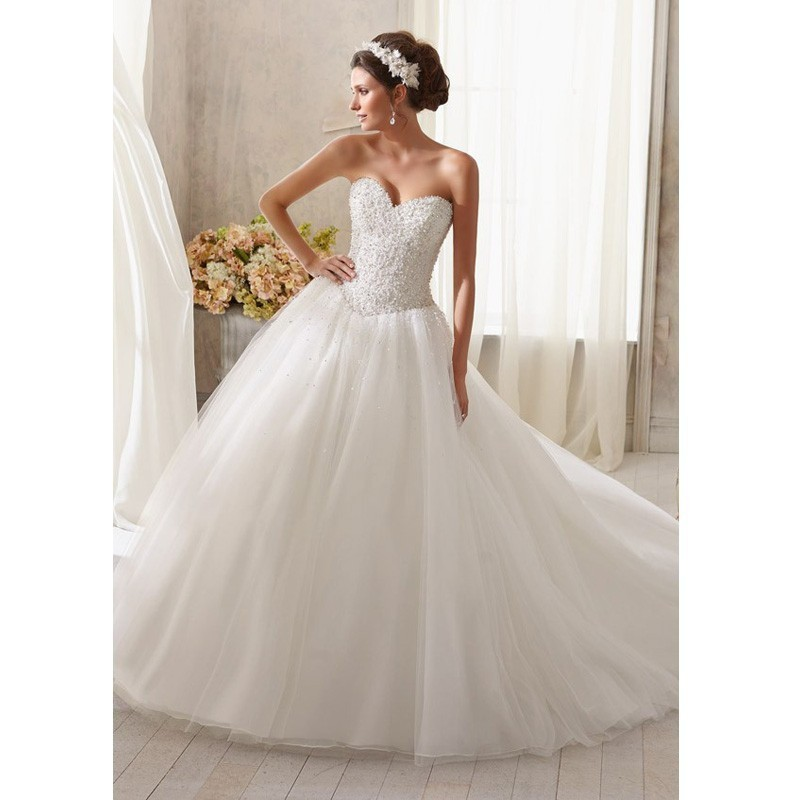 Wedding Gown Lace Up Back : Lace up back tulle wedding dress summer bride gown bridal dresses