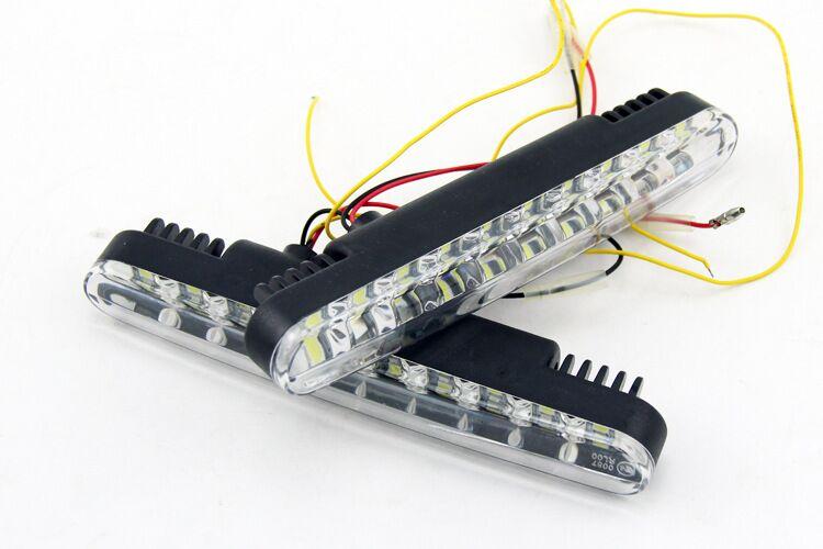2x 30 LED Car Daytime Running Light DRL Daylight Lamp with Turn Lights day time day running lights Lamps(China (Mainland))
