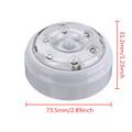 High Quality 6 LED Wireless Infrared PIR Auto Sensor Motion Detector Battery Powered Door Wall Light