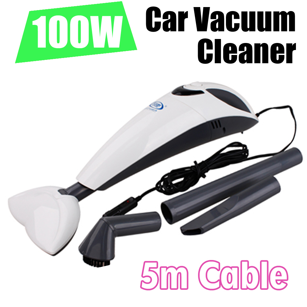 Free Sipping Hand-held Wireless 100W Rechargeable Portable Car Vacuum Cleaner Wet and Dry Vacuum Cleaner For Car&Home(China (Mainland))