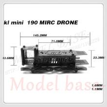 Kl 145.2 mm Mini 190 MIRC Drone fibra de carbono marco bordo Kit