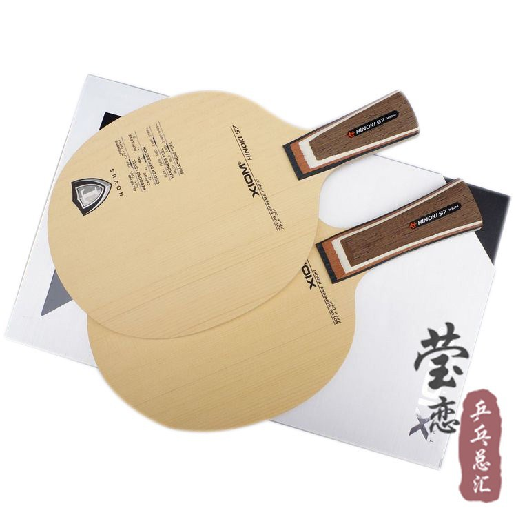 Фотография Original XIOM HINOKI S7 table tennis blade racquet sports table tennis rackets indoor sports cypress pure wood