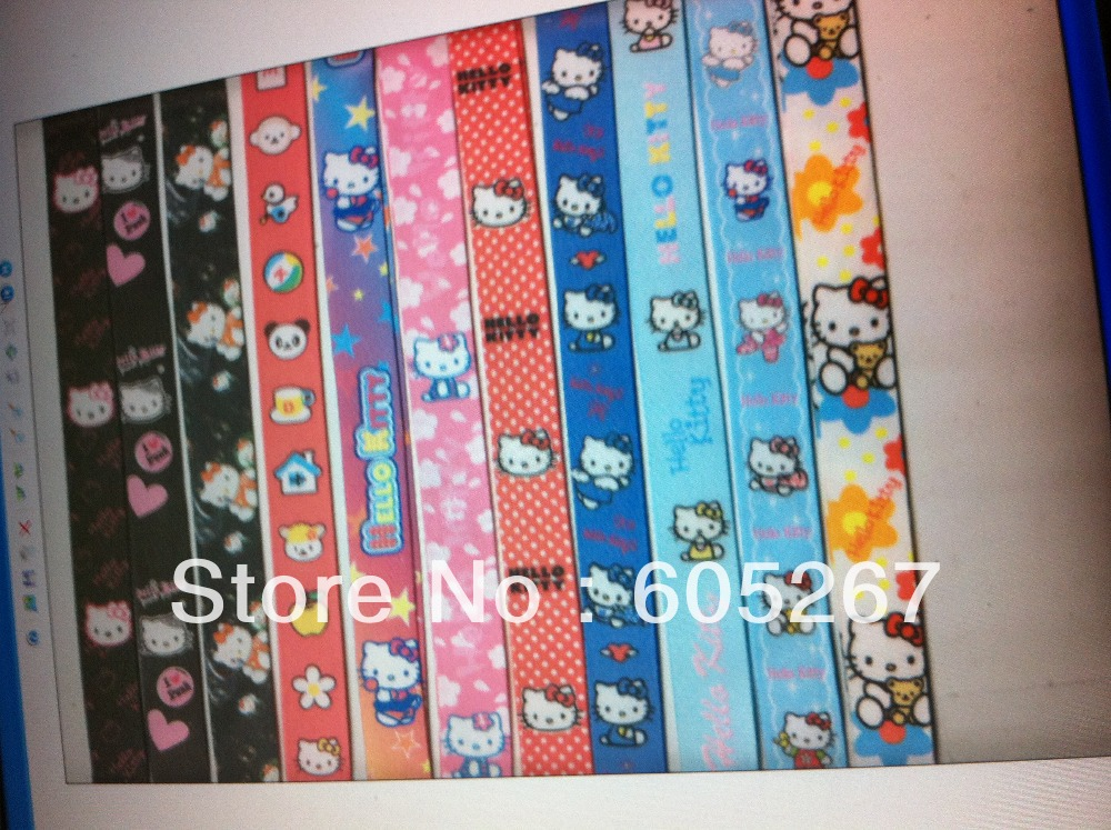 Wholesale New 100pcs Hello Kitty Cell Phone MP3 Neck Straps Lanyards Charms(China (Mainland))