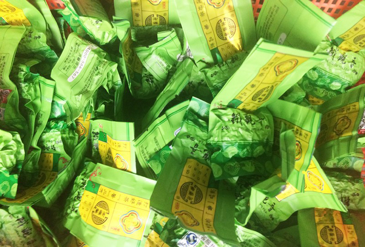 Freeshipping Tieguanying Vacuum Package 7g bags Fujian Anxi Tieguanying Oolong Tea