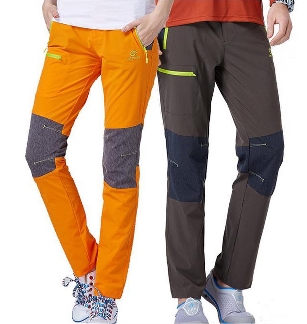 Luxury Womens Hiking Pants Fleece Lining Waterproof Strectable Soft Shell