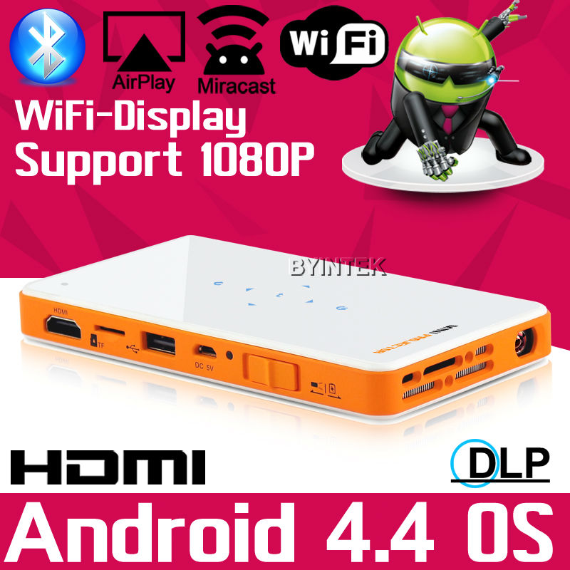 2016 Mobile Smart Home Game USB HDMI TF Video WIfi HD Pocket LED Pico Portable DLP Mini Projector Proyector For Iphone Android<br><br>Aliexpress